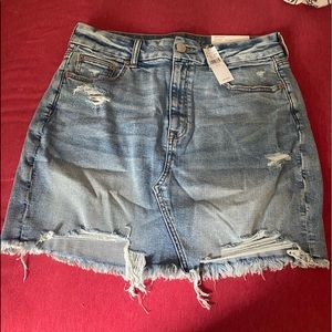 AE DENIM SKIRT NWT SUPER STRETCH